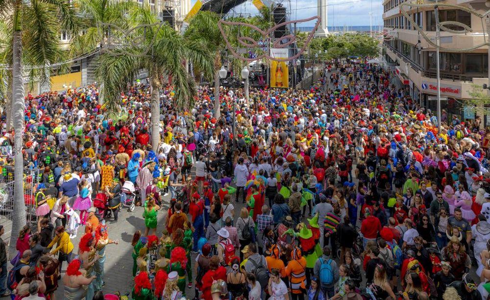 carnaval tenerife 2020 plaza españa