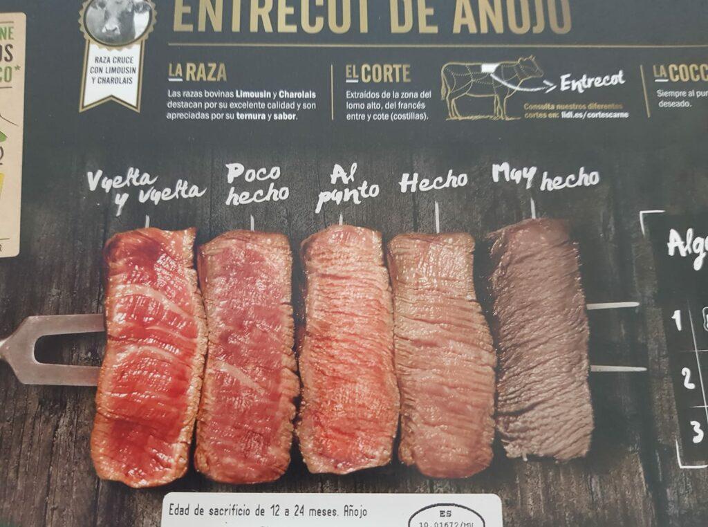 viande espagne cuissons